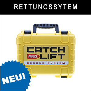 Rettungssystem Catch and Lift