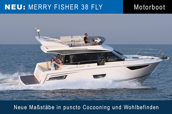Jeanneau Merry Fisher 38 Fly